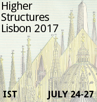 [Higher Structures Lisbon 2017 · July 24–27]