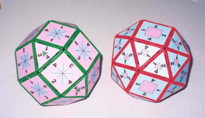 Rhombicuboctahedron and snub cube